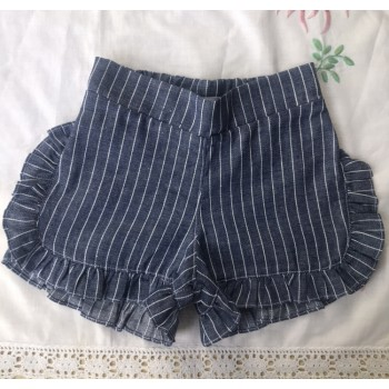 Short similares jean rayado